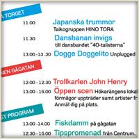 Program för Hökarängens Dag – 28 Maj