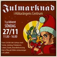 Julmarknad i Hökarängen – 27 November
