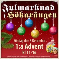 Julmarknad i Hökarängen 2017…